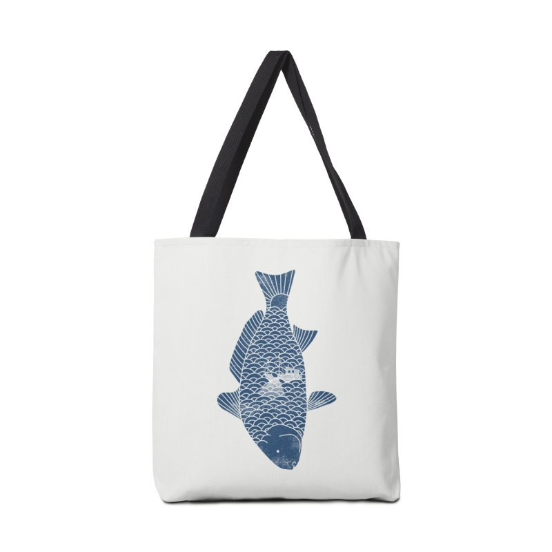 Fishing in a fish Accessories Bag by ilovedoodle's Artist Shop