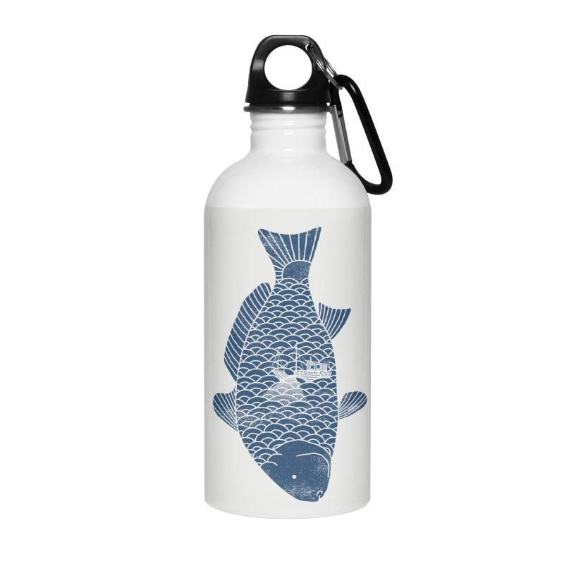 Fishing in a fish Accessories Water Bottle by ilovedoodle's Artist Shop