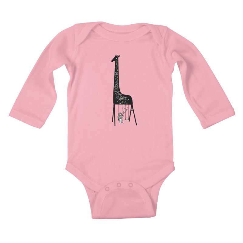 Dream High Kids Baby Longsleeve Bodysuit by ilovedoodle's Artist Shop