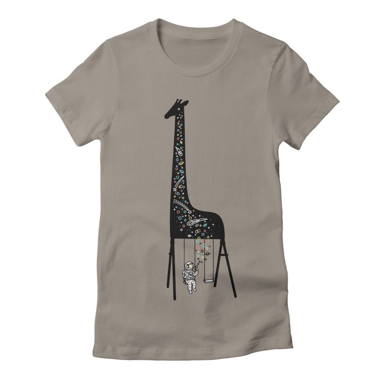 Dream High Women's Fitted T-Shirt by ilovedoodle's Artist Shop