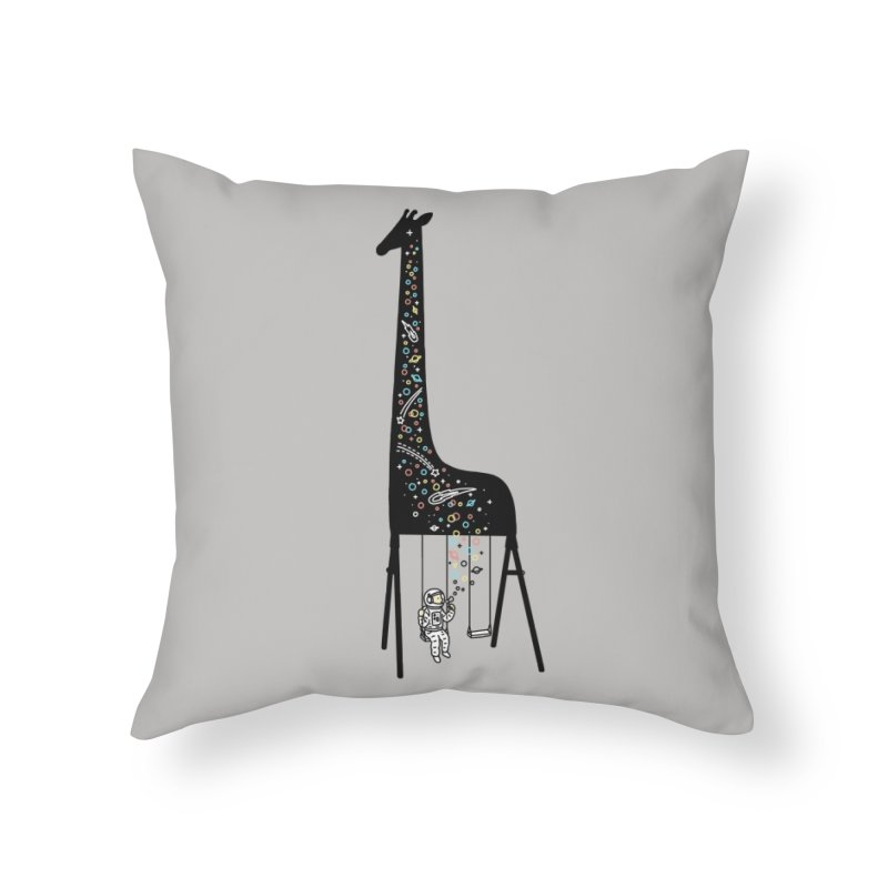 Dream High Home Throw Pillow by ilovedoodle's Artist Shop