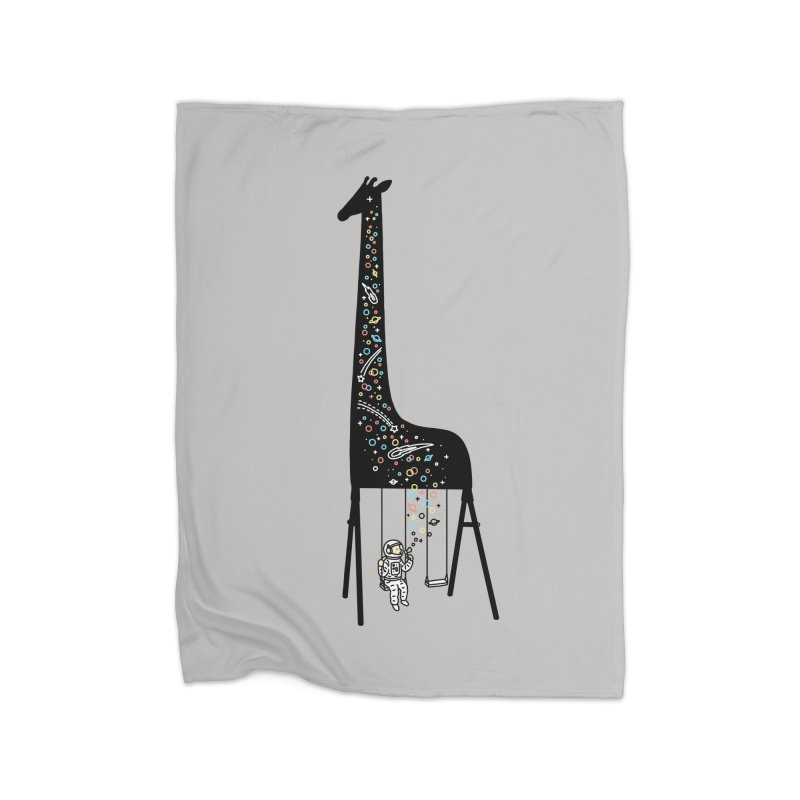 Dream High Home Fleece Blanket by ilovedoodle's Artist Shop