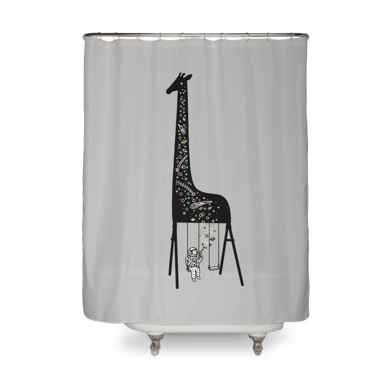 Dream High Home Shower Curtain by ilovedoodle's Artist Shop