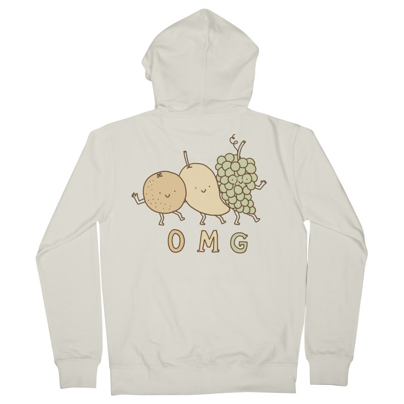OMG Men's French Terry Zip-Up Hoody by ilovedoodle's Artist Shop