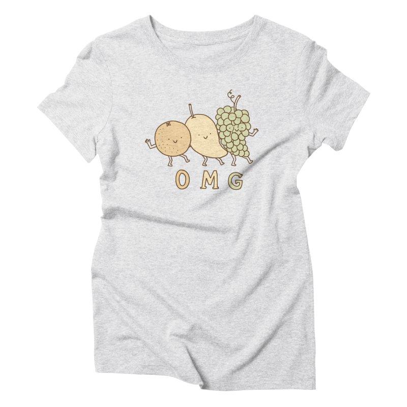 OMG Women's Triblend T-Shirt by ilovedoodle's Artist Shop