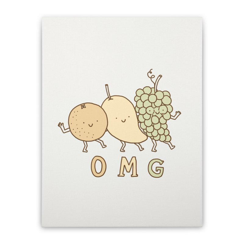 OMG Home Stretched Canvas by ilovedoodle's Artist Shop