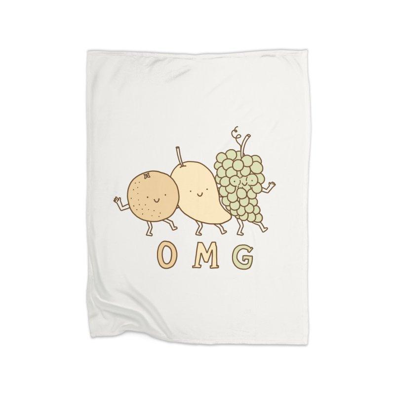 OMG Home Blanket by ilovedoodle's Artist Shop