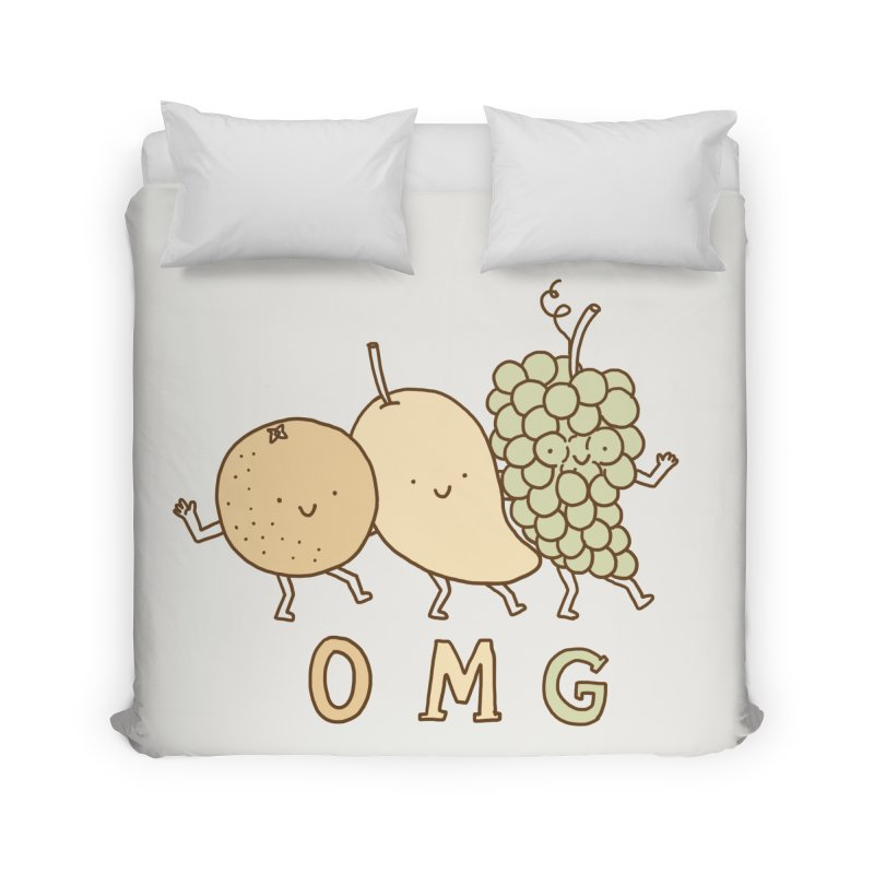 OMG Home Duvet by ilovedoodle's Artist Shop