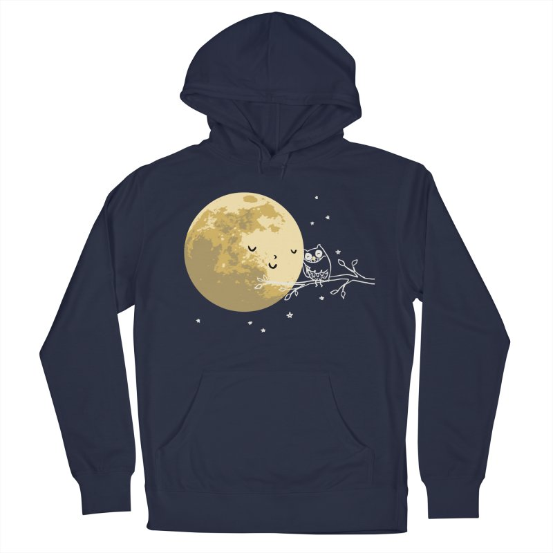 Owl and Moon Women's Pullover Hoody by ilovedoodle's Artist Shop