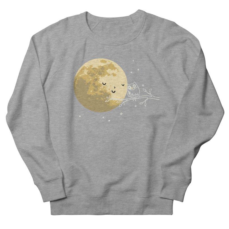 Owl and Moon Men's Sweatshirt by ilovedoodle's Artist Shop