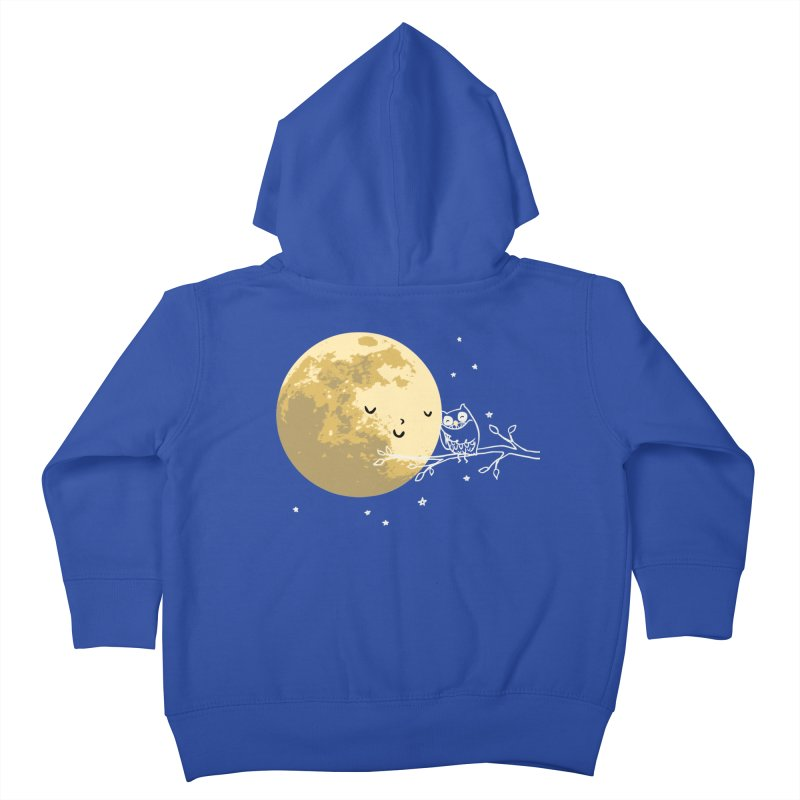 Owl and Moon Kids Toddler Zip-Up Hoody by ilovedoodle's Artist Shop