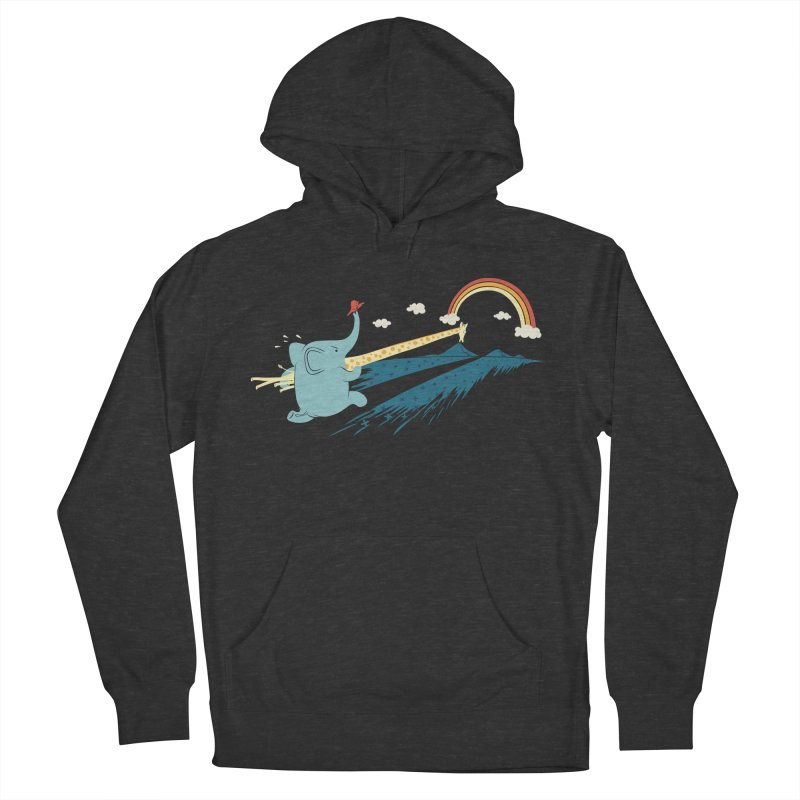 Over the rainbow Women's Pullover Hoody by ilovedoodle's Artist Shop