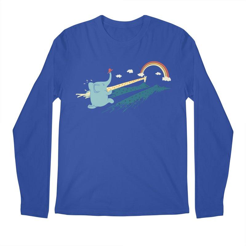 Over the rainbow Men's Regular Longsleeve T-Shirt by ilovedoodle's Artist Shop