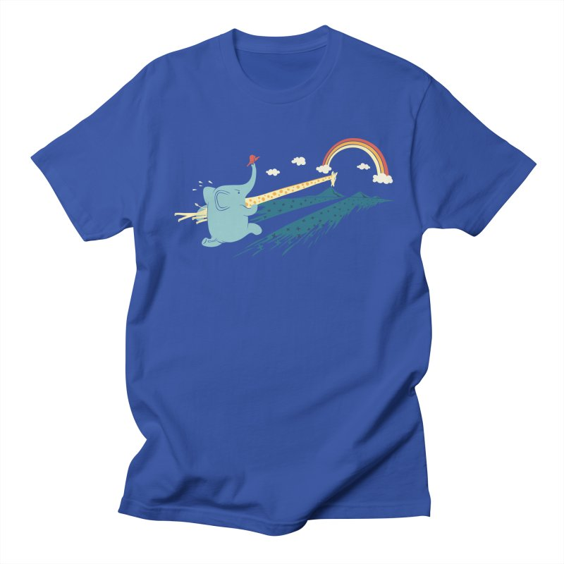 Over the rainbow Women's Unisex T-Shirt by ilovedoodle's Artist Shop
