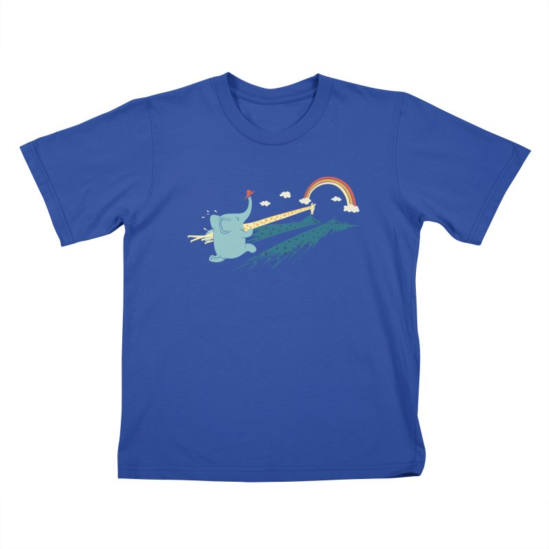 Over the rainbow Kids T-Shirt by ilovedoodle's Artist Shop