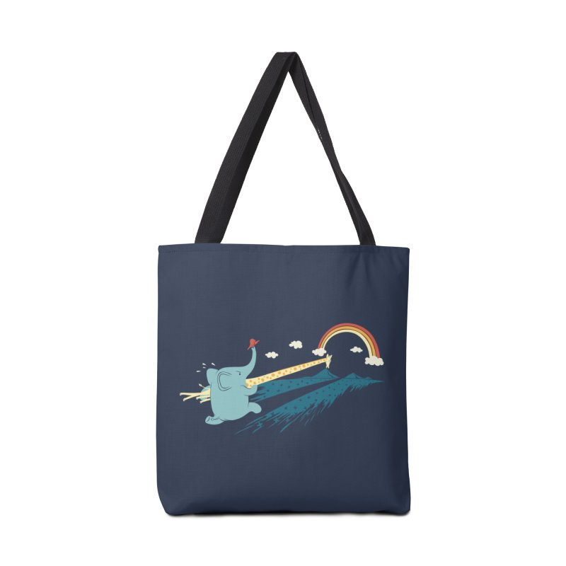 Over the rainbow Accessories Bag by ilovedoodle's Artist Shop