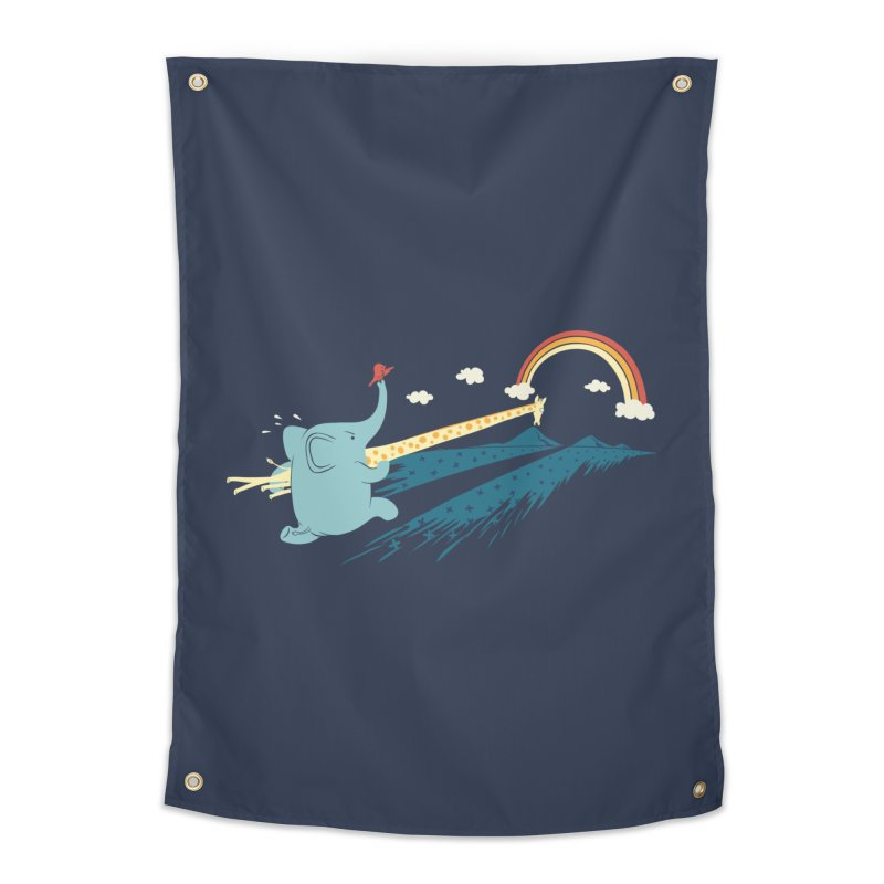 Over the rainbow Home Tapestry by ilovedoodle's Artist Shop