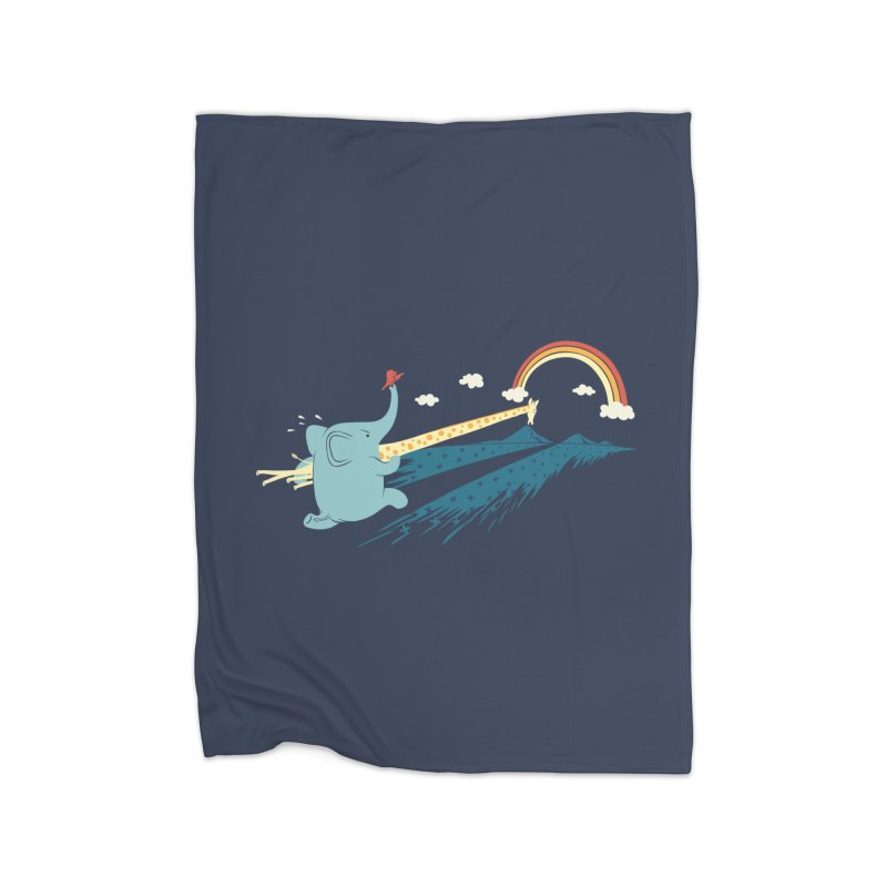 Over the rainbow Home Blanket by ilovedoodle's Artist Shop