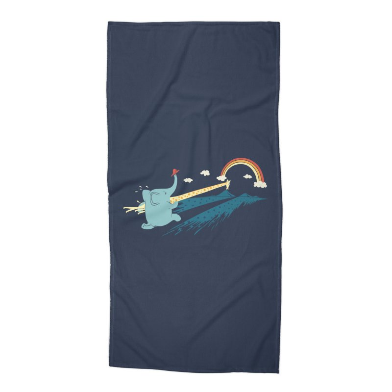 Over the rainbow Accessories Beach Towel by ilovedoodle's Artist Shop
