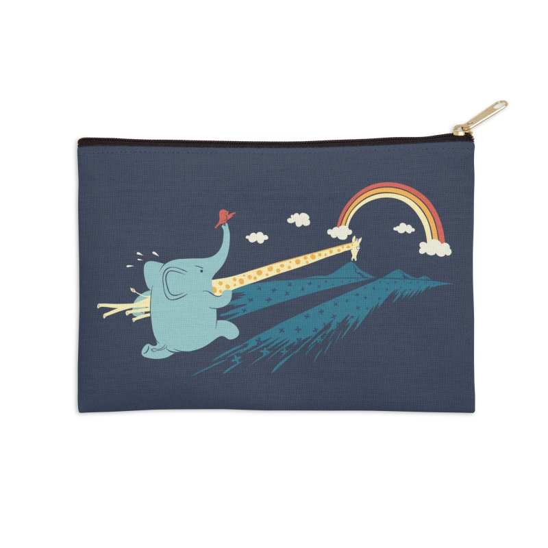 Over the rainbow Accessories Zip Pouch by ilovedoodle's Artist Shop