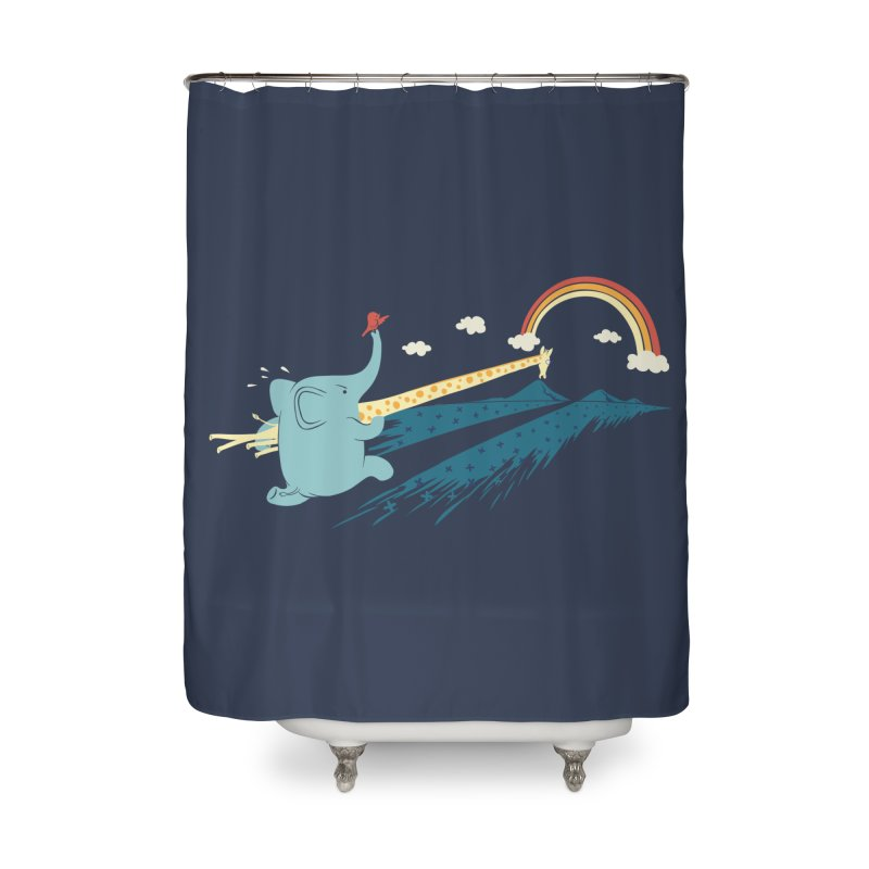 Over the rainbow Home Shower Curtain by ilovedoodle's Artist Shop