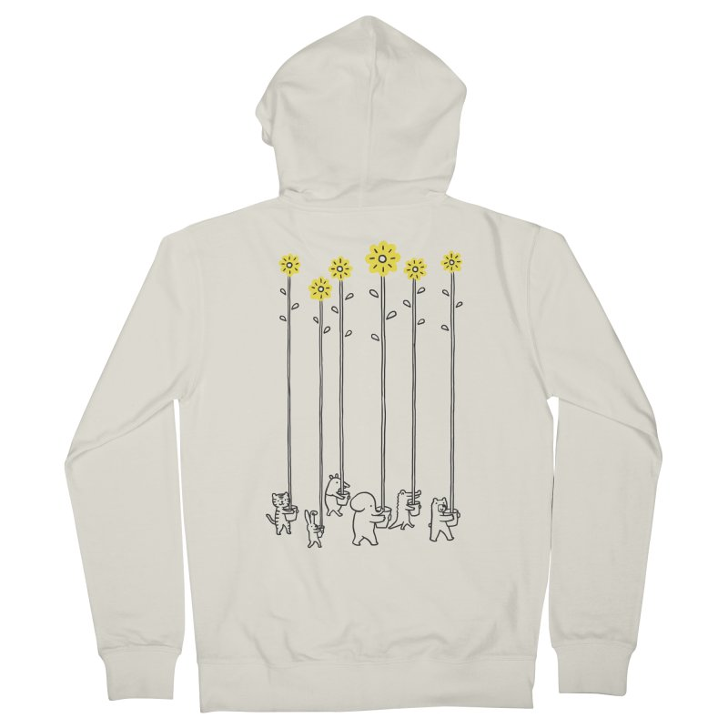 Seeds of hope Men's French Terry Zip-Up Hoody by ilovedoodle's Artist Shop