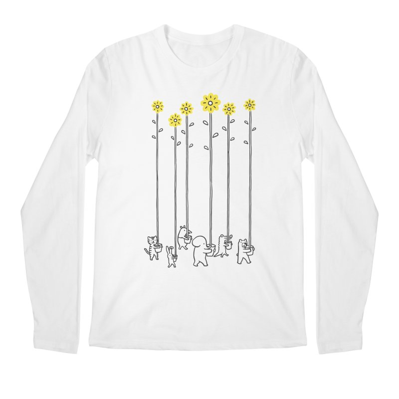 Seeds of hope Men's Regular Longsleeve T-Shirt by ilovedoodle's Artist Shop