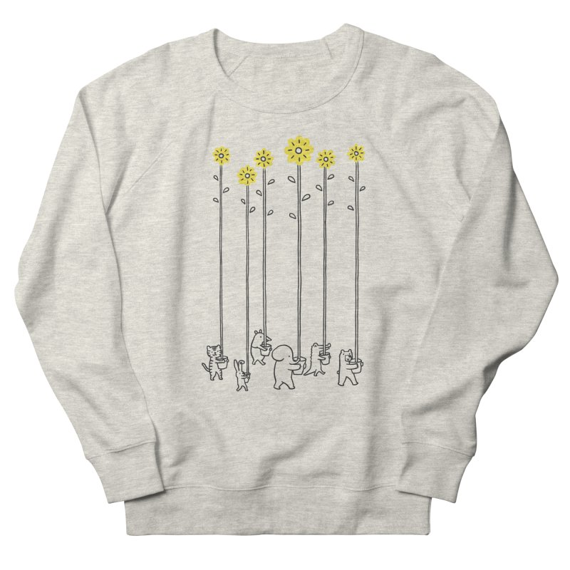 Seeds of hope Men's French Terry Sweatshirt by ilovedoodle's Artist Shop
