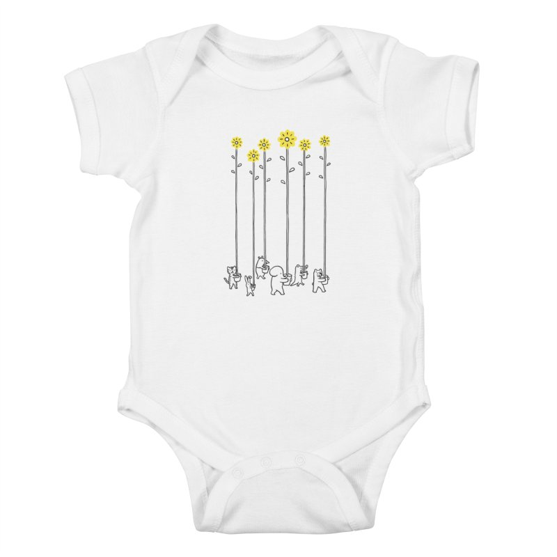 Seeds of hope Kids Baby Bodysuit by ilovedoodle's Artist Shop