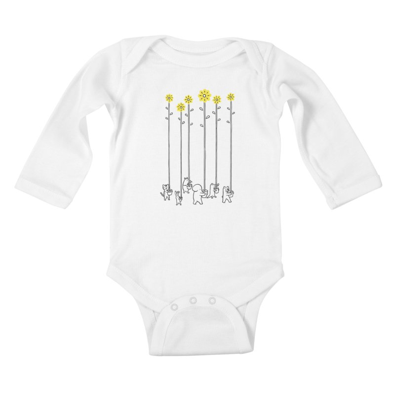 Seeds of hope Kids Baby Longsleeve Bodysuit by ilovedoodle's Artist Shop