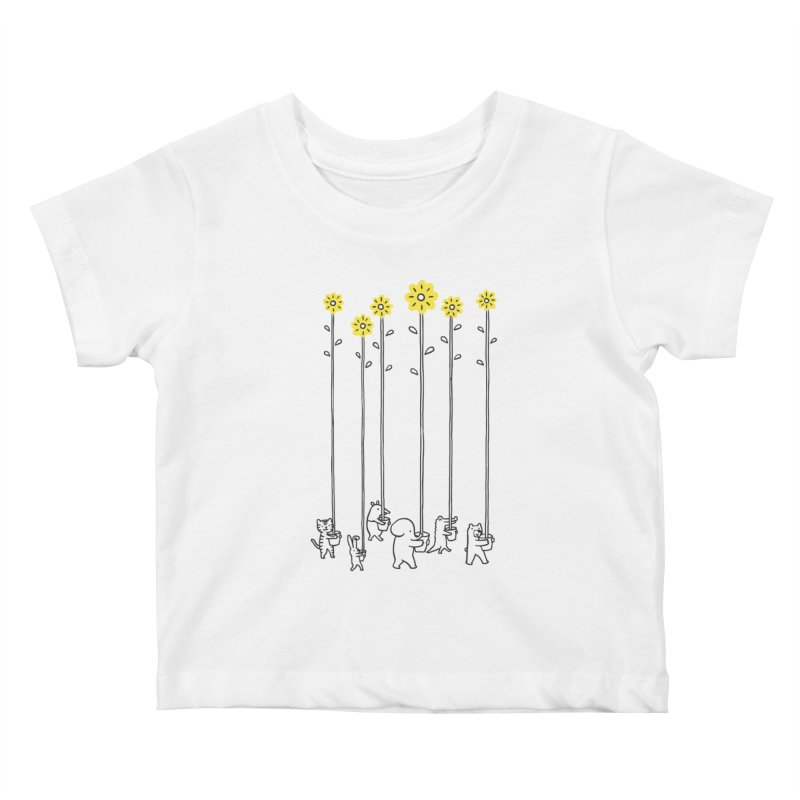 Seeds of hope Kids Baby T-Shirt by ilovedoodle's Artist Shop