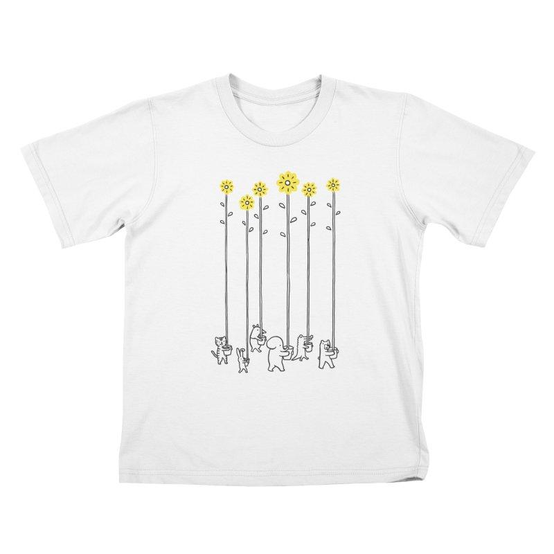 Seeds of hope Kids T-Shirt by ilovedoodle's Artist Shop