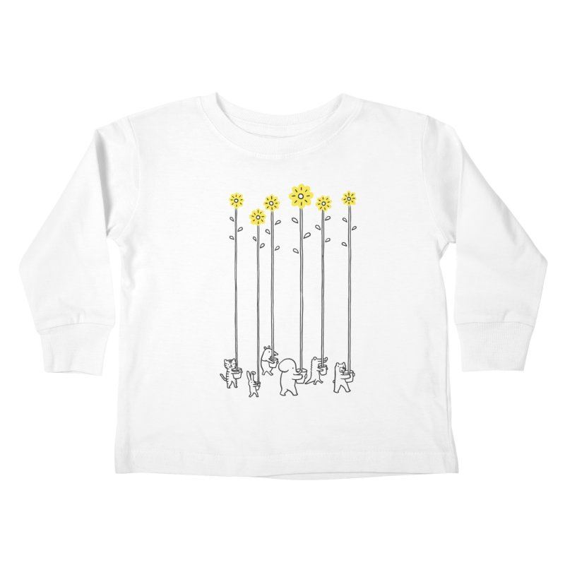 Seeds of hope Kids Toddler Longsleeve T-Shirt by ilovedoodle's Artist Shop