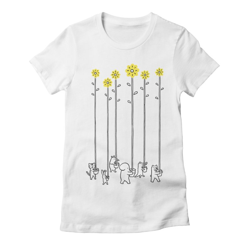 Seeds of hope Women's Fitted T-Shirt by ilovedoodle's Artist Shop