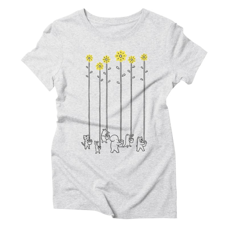 Seeds of hope Women's Triblend T-Shirt by ilovedoodle's Artist Shop