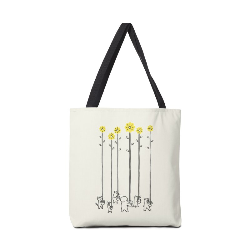 Seeds of hope Accessories Bag by ilovedoodle's Artist Shop
