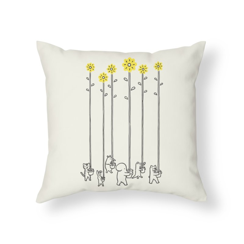 Seeds of hope Home Throw Pillow by ilovedoodle's Artist Shop