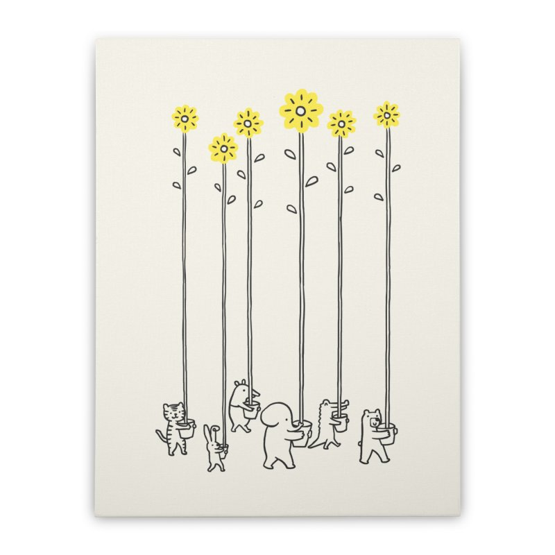 Seeds of hope Home Stretched Canvas by ilovedoodle's Artist Shop