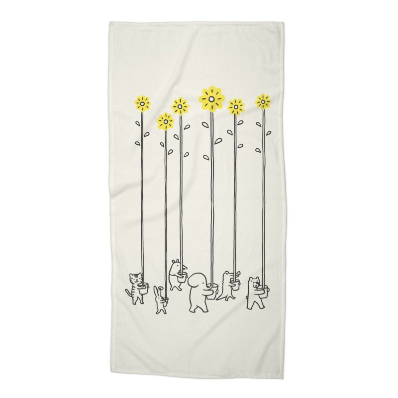 Seeds of hope Accessories Beach Towel by ilovedoodle's Artist Shop