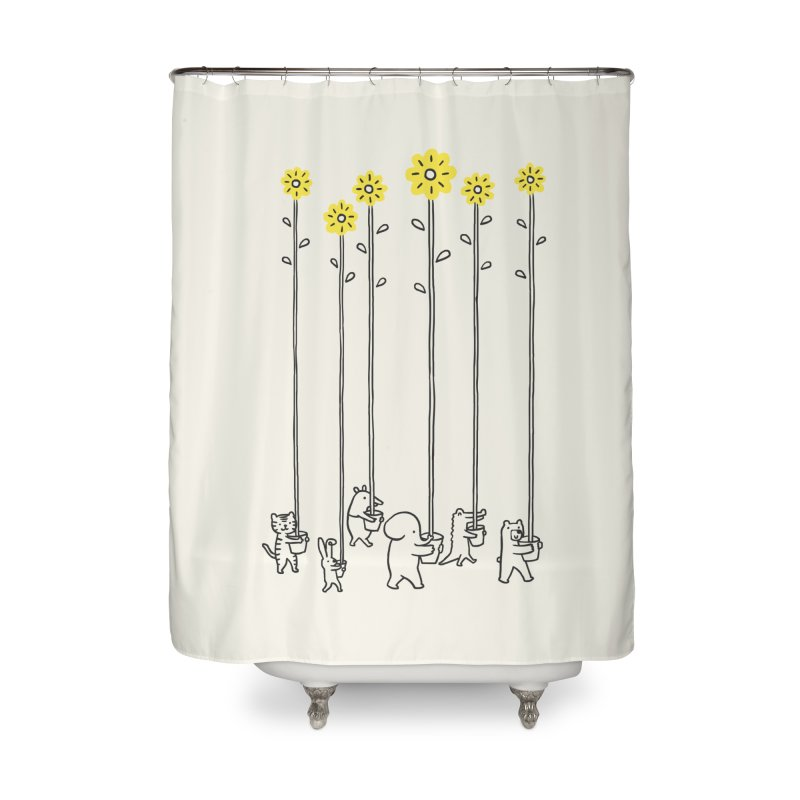 Seeds of hope Home Shower Curtain by ilovedoodle's Artist Shop