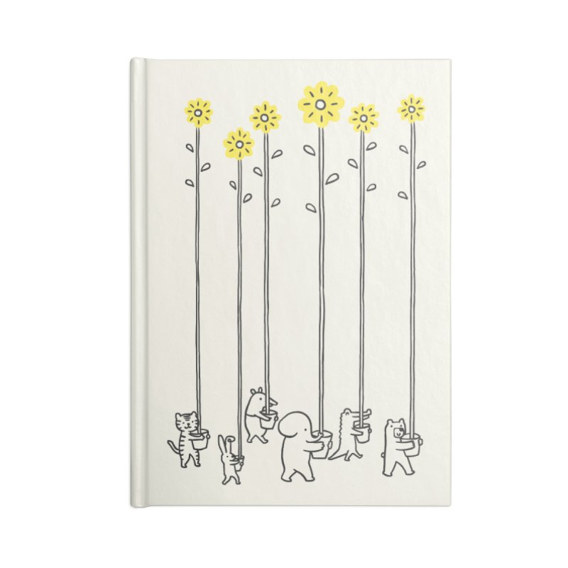 Seeds of hope Accessories Notebook by ilovedoodle's Artist Shop
