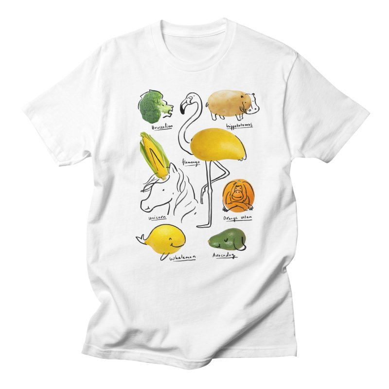 Wild Vegan Women's Regular Unisex T-Shirt by ilovedoodle's Artist Shop