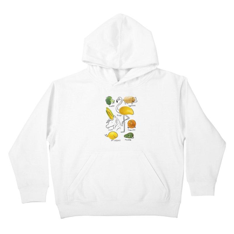 Wild Vegan Kids Pullover Hoody by ilovedoodle's Artist Shop