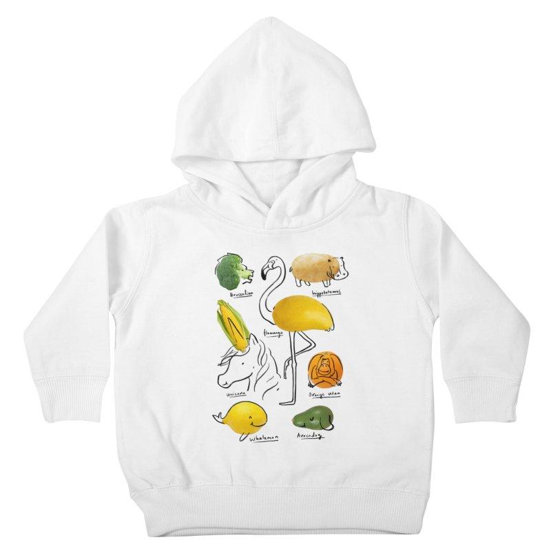 Wild Vegan Kids Toddler Pullover Hoody by ilovedoodle's Artist Shop