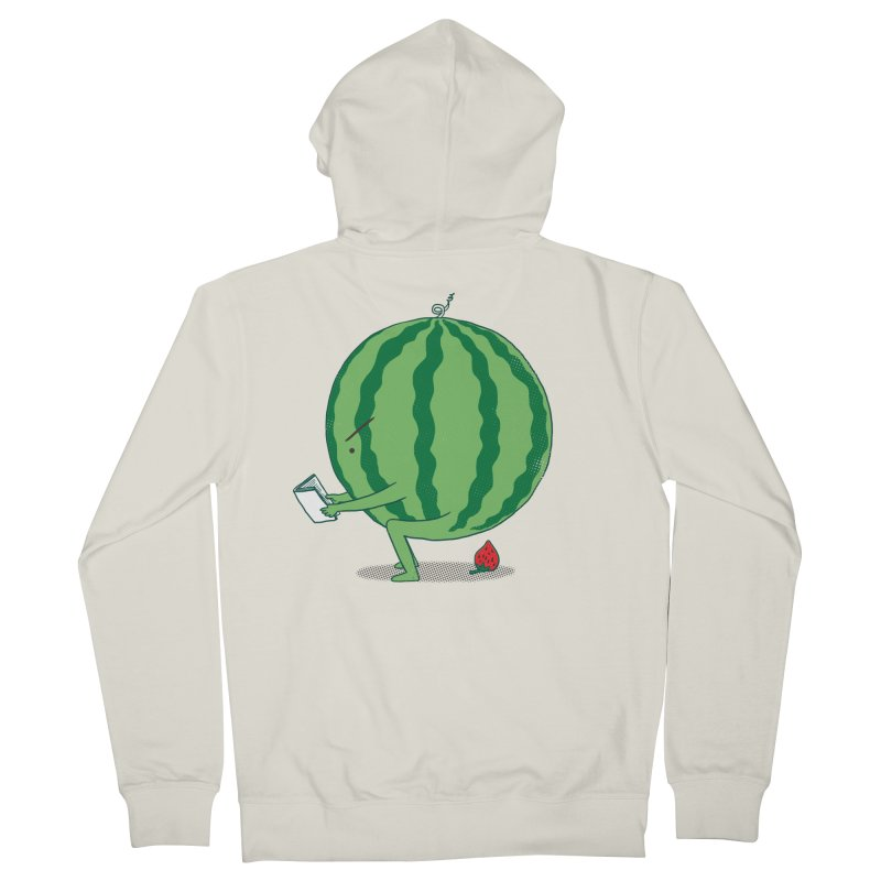 The Making of Strawberry Women's French Terry Zip-Up Hoody by ilovedoodle's Artist Shop