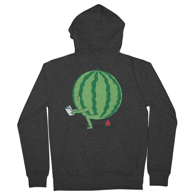 The Making of Strawberry Men's French Terry Zip-Up Hoody by ilovedoodle's Artist Shop