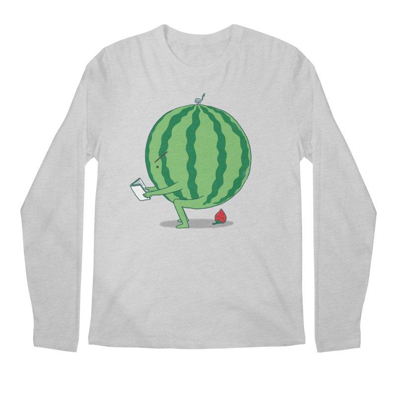 The Making of Strawberry Men's Regular Longsleeve T-Shirt by ilovedoodle's Artist Shop