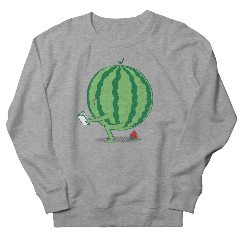 The Making of Strawberry Men's French Terry Sweatshirt by ilovedoodle's Artist Shop