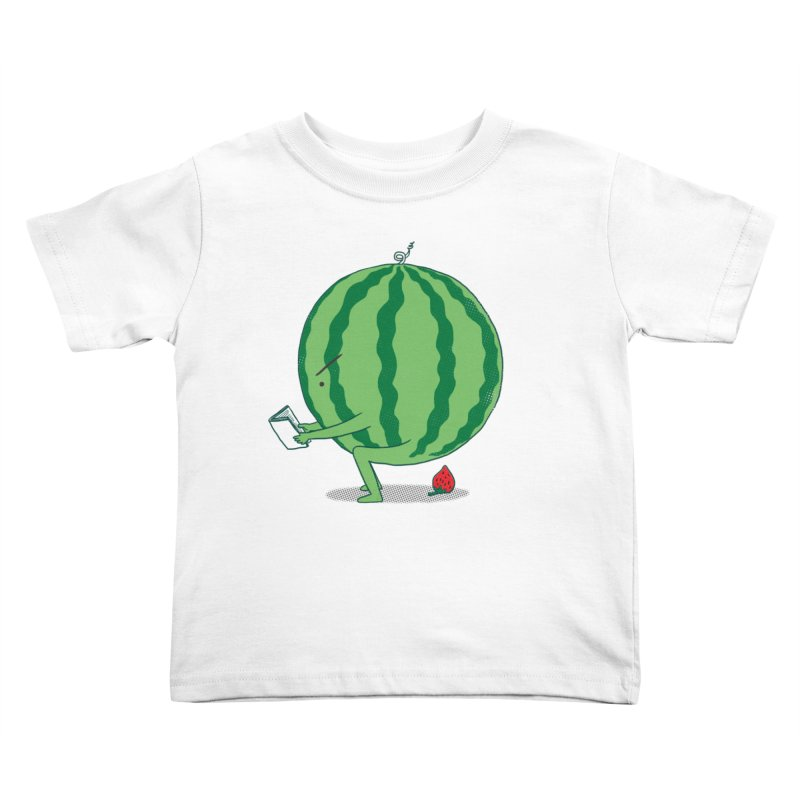 The Making of Strawberry Kids Toddler T-Shirt by ilovedoodle's Artist Shop