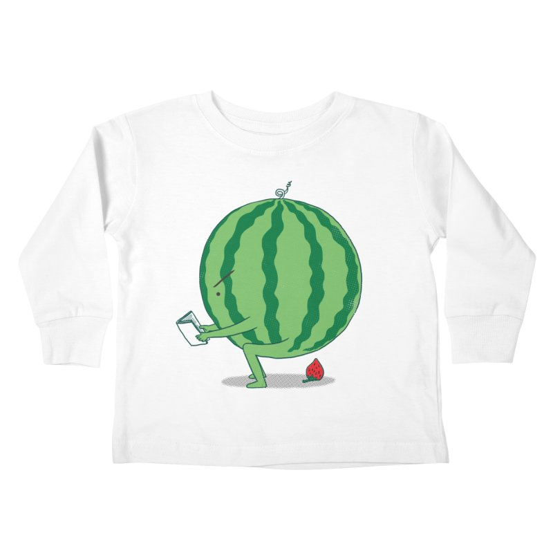 The Making of Strawberry Kids Toddler Longsleeve T-Shirt by ilovedoodle's Artist Shop